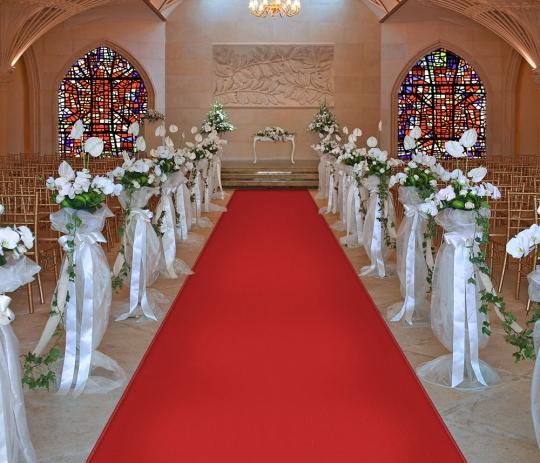 Red Carpet Aisle Runners