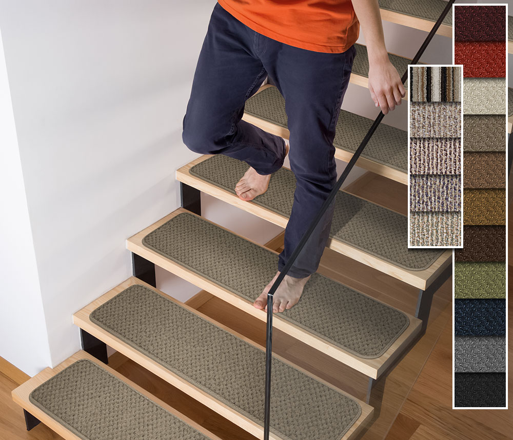 Tape Down Stair Treads   Set Of 15