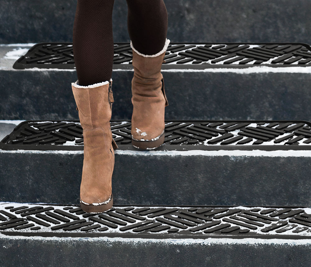 Heavy Duty Rubber Stair Treads Outdoor Stair Treads